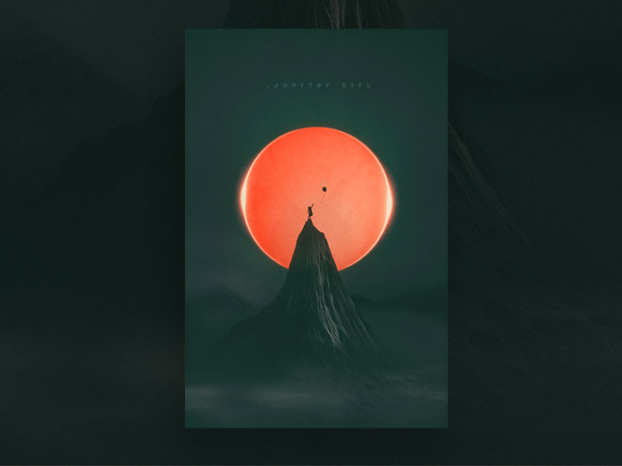 Nick Franchi, Jupiter Girl - digital artwork