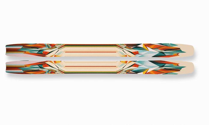 Nick Franchi, ski design