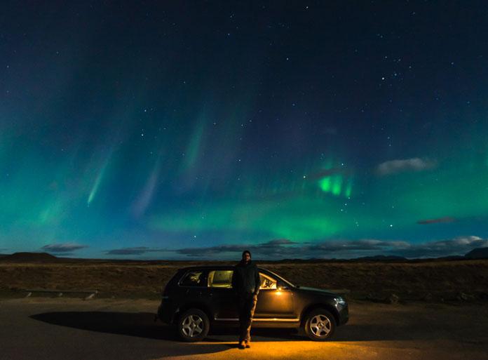 Northern Lights over North Iceland (2016)