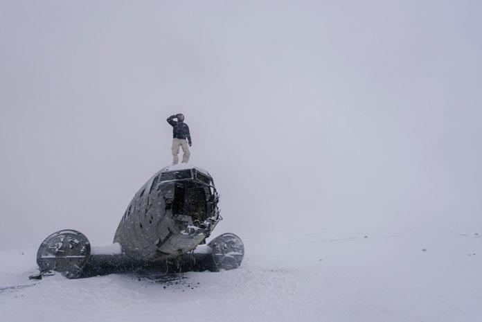 Plane Wreck on Sólheimasandur Beach, Iceland (2016)