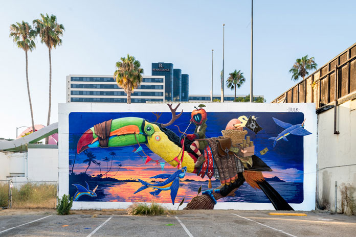 Pow! Wow! Long Beach 2017, Dulk1