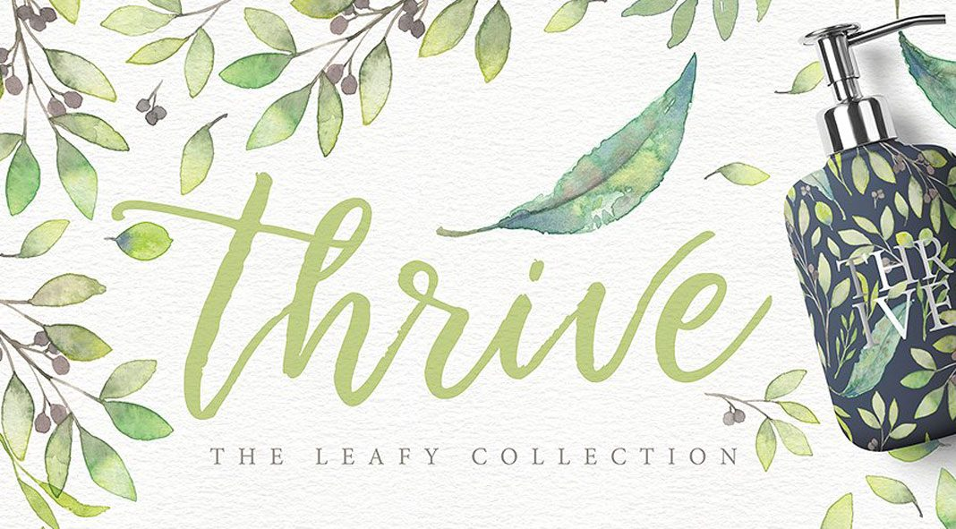 Thrive – The leafy collection.