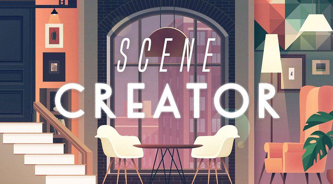 Tricky – illustrated interior scene creator.