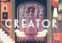 Tricky – illustrated interior scene creator.