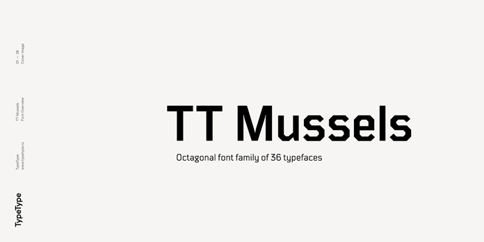 TT Mussels font family from TypeType.