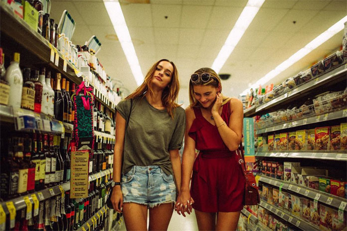 André Josselin, Little shoot in a supermarket in Chicago, Illinois.