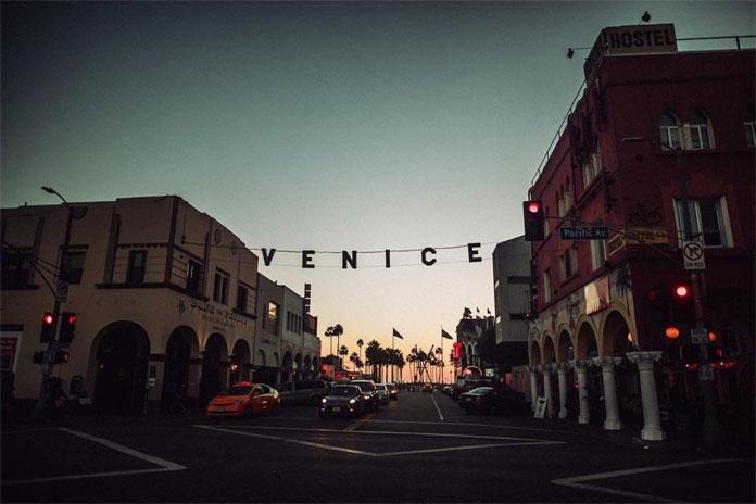 André Josselin, Venice Beach.