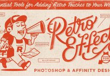 Classic Retro Effects Collection from RetroSupply Co.