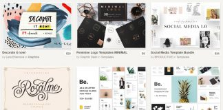 Creative Market September Big Bundle.