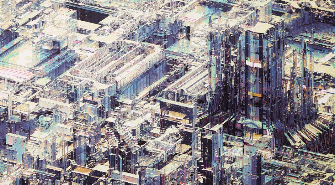 Deus ex machina - digital illustrations by Atelier Olschinsky