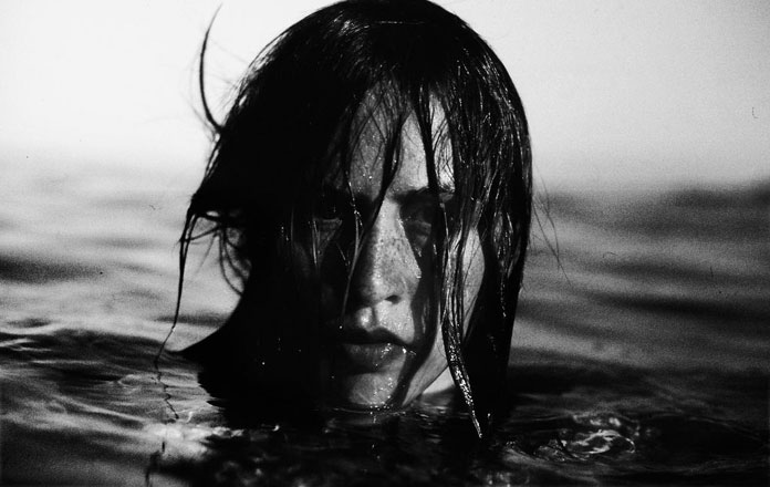 Elizaveta Porodina, portrait in the water