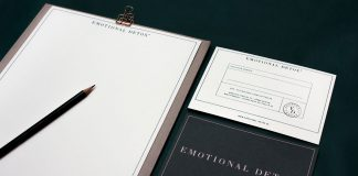 Graphic design and branding by by Livia Ritthaler for Emotional Detox.