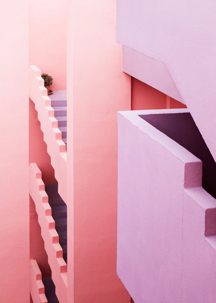 Jeanette Hägglund Photography, Intersections of countless stairs and walls.