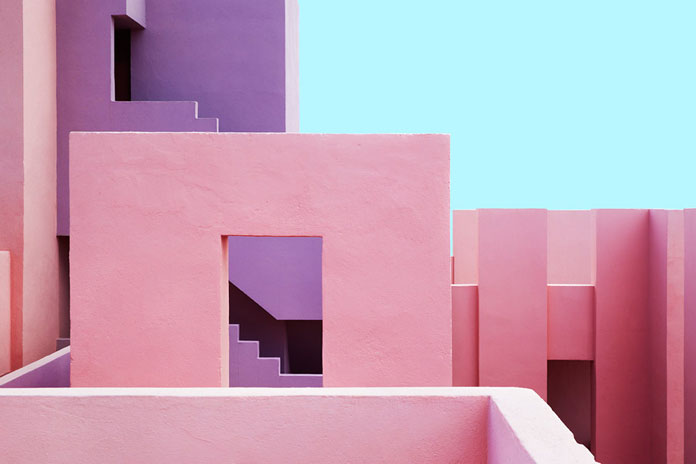 Jeanette Hägglund Photography, Unique angular architecture.
