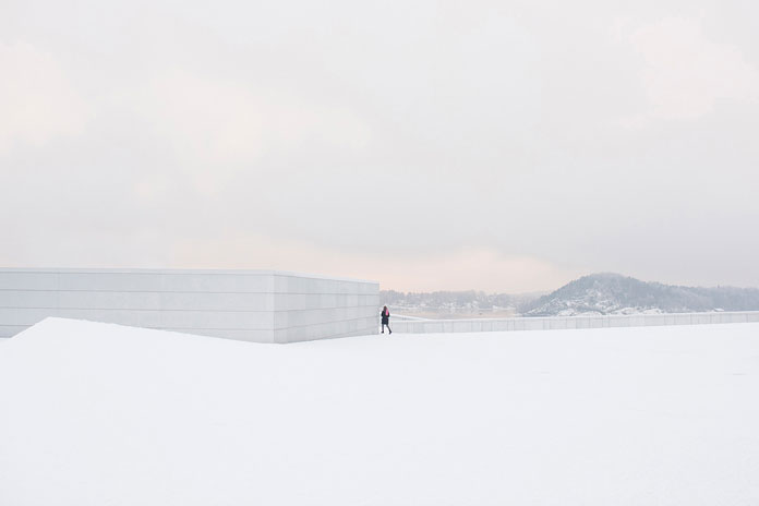 On His Own – photo series by Pawel Franik, simply white