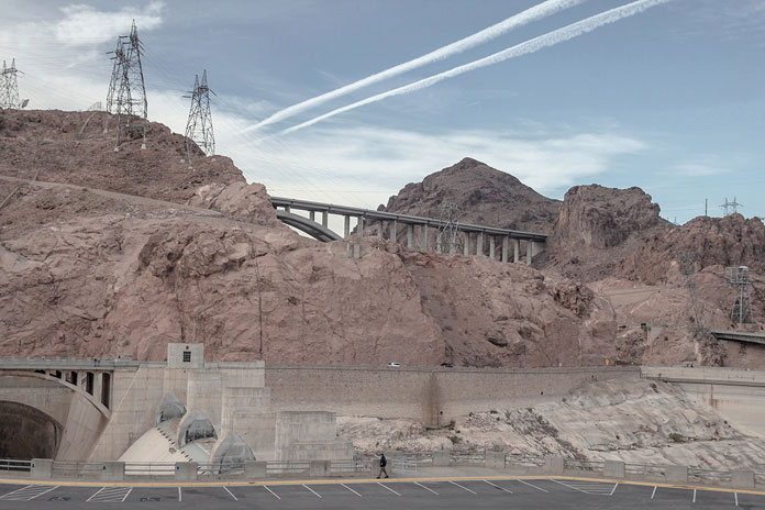 On His Own – photo series by Pawel Franik, bridges and rocks