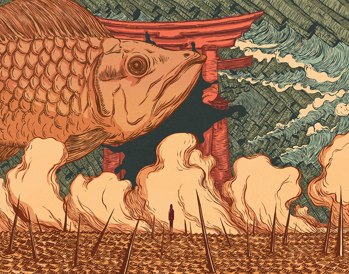 Wenyi Geng Illustrations, Big Fish.
