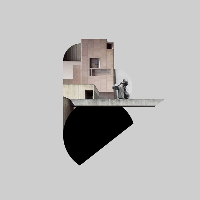 digital collage el lissitzky's house