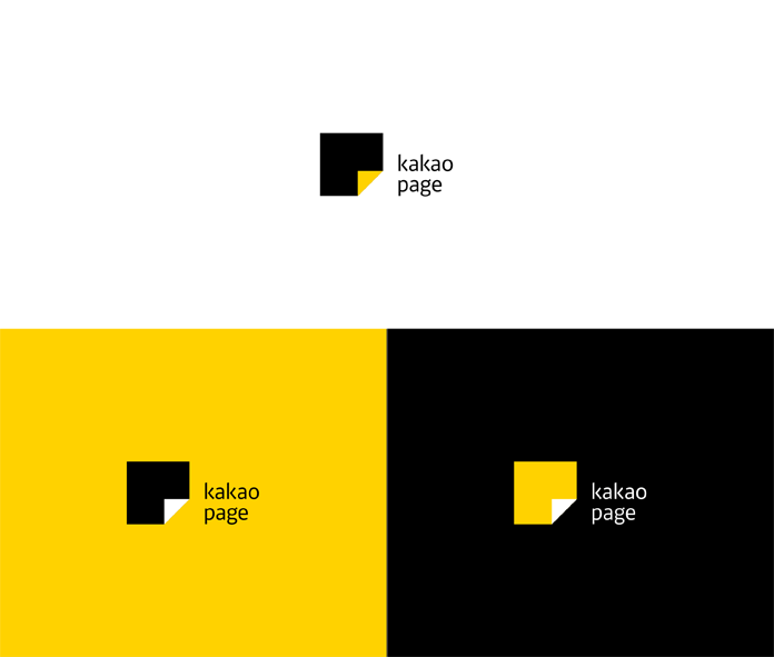 Kakaopage logo versions.