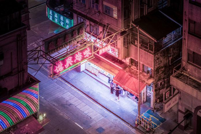 Urban environment.