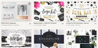 88 incredible design products from Creative Market.