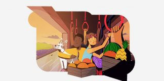 A collection of interstitials created by animation studio PICNIC Studio for the Travel Channel.