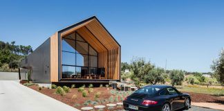 Architectural photographs by Joao Morgado of a house in Ourem, Portugal designed by Filipe Saraiva Arquitectos.