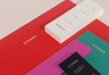 Cienne women's fashion brand identity development by Lotta Nieminen.
