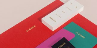 Cienne women's fashion brand identity development by Lotta Nieminen.