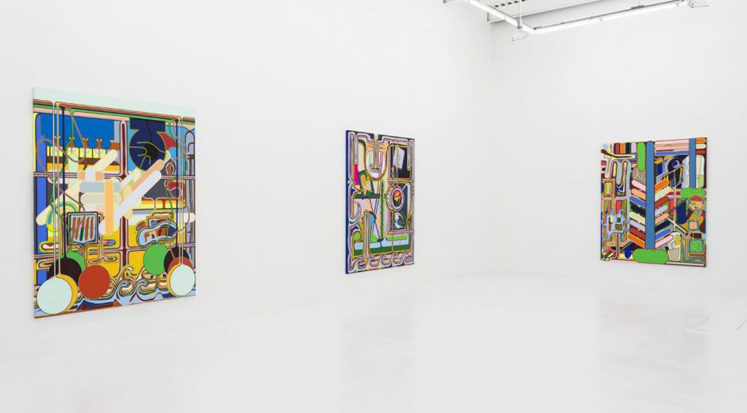 Eric Shaw at New York City based gallery The Hole