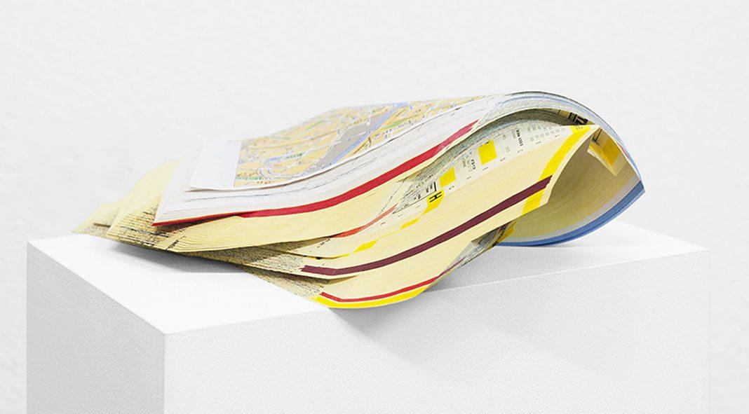 Formal reduction by Italian artist Gemis Luciani