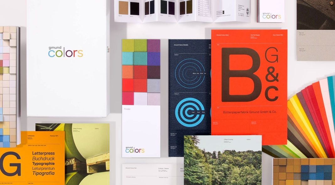 Gmund colors campaign by Principal and creative director, Steve Tolleson.