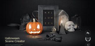 Halloween Scene Creator from design studio Creatsy.
