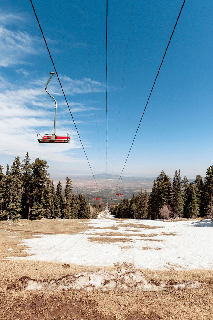 Lift at Sandia Peak.