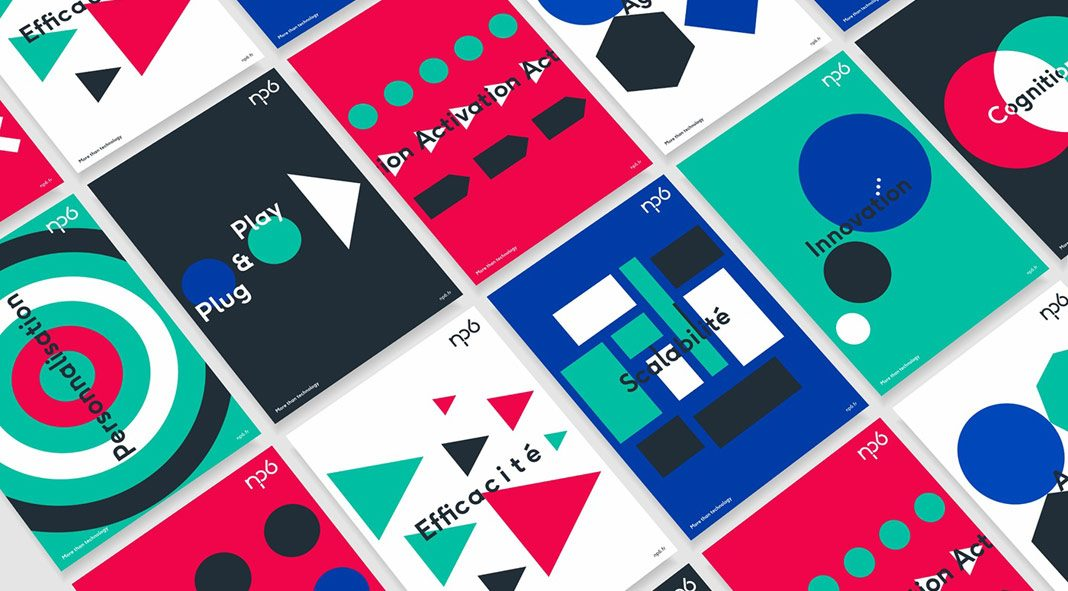 NP6 – graphic design and corporate identity development by Brand Brothers.