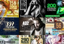 Over 59 premium Lightroom presets - limited time offer