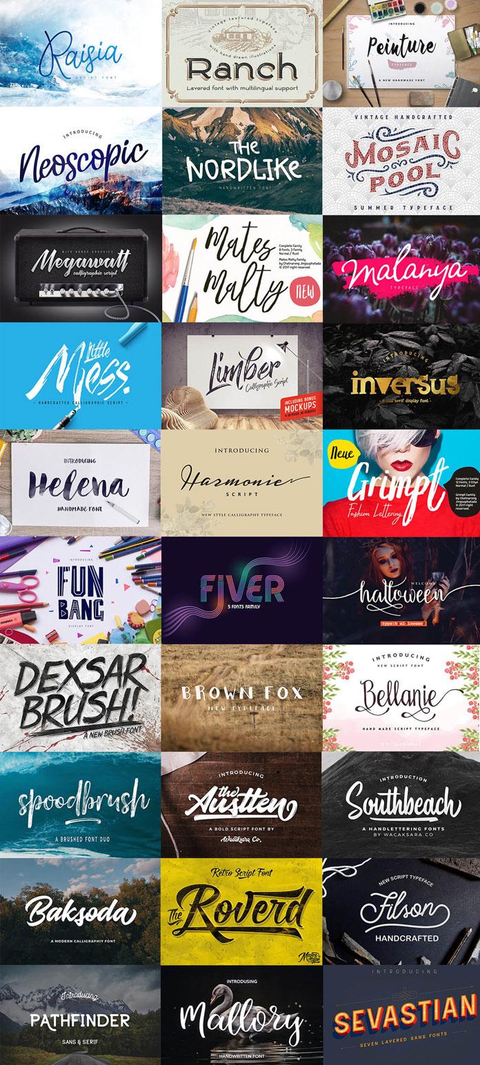 31 Versatile Fonts: Special Deal