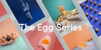 The egg series by Nidia Dias.