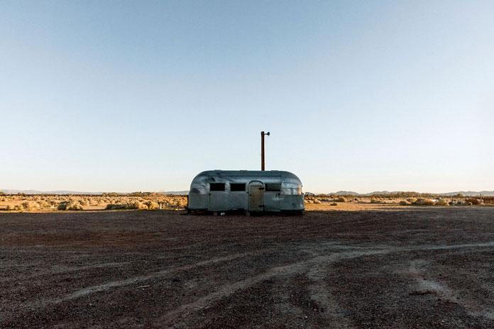 A remote trailer.