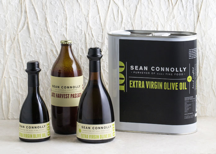 Chef Sean Connolly packaging.