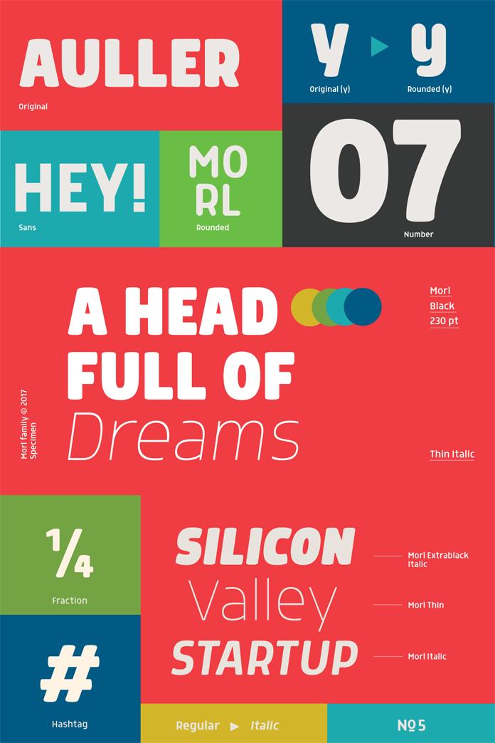Morl font family from Typesketchbook.