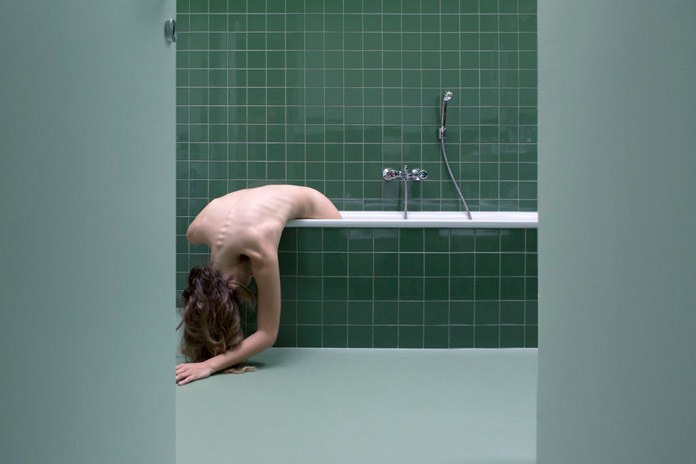 Intimate self-portraits by Sofia Masini.
