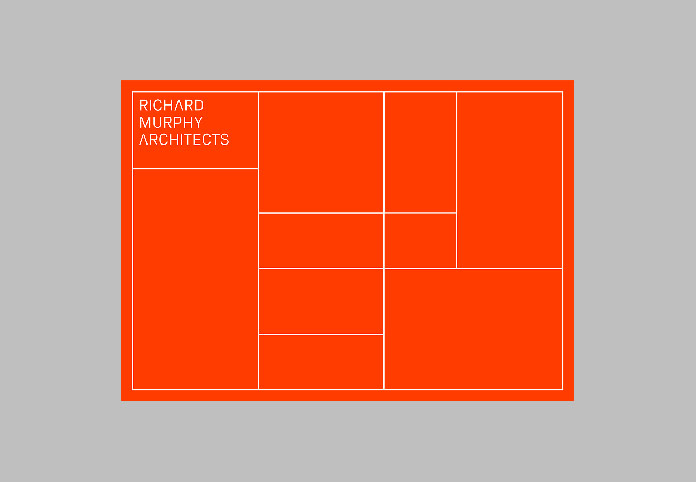 New visual identity for multi-award winning architectural practice Richard Murphy Architects.