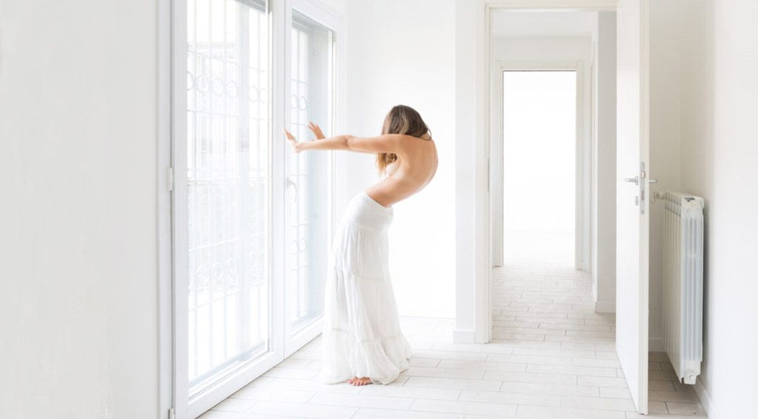Intimate self-portraits by Sofia Masini.