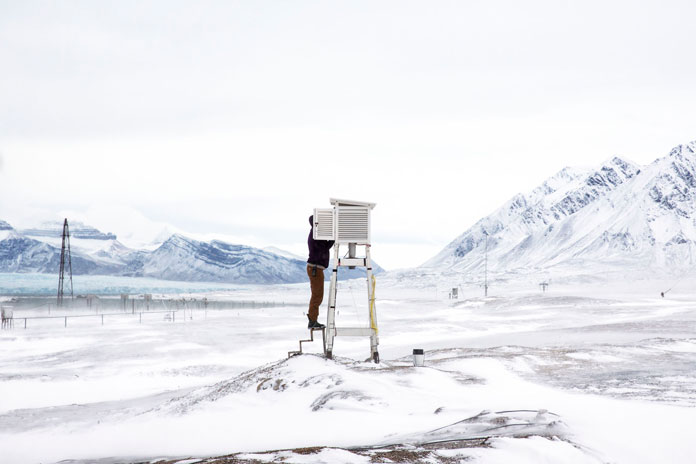 Anna Filipova - Arctic Research Station (from the series 'Research at the End of the World')