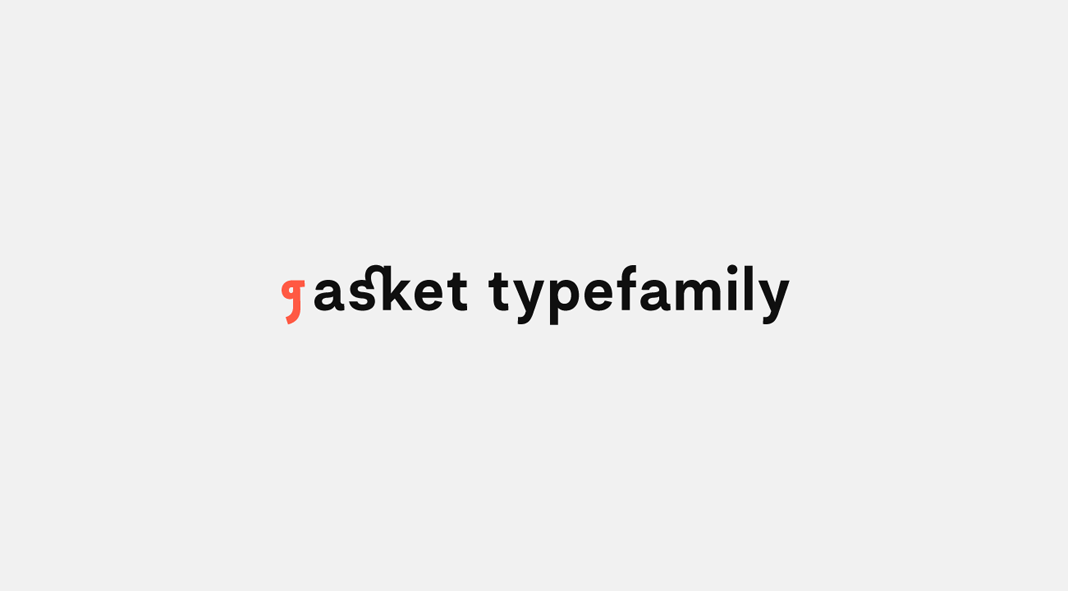 Asket font family.