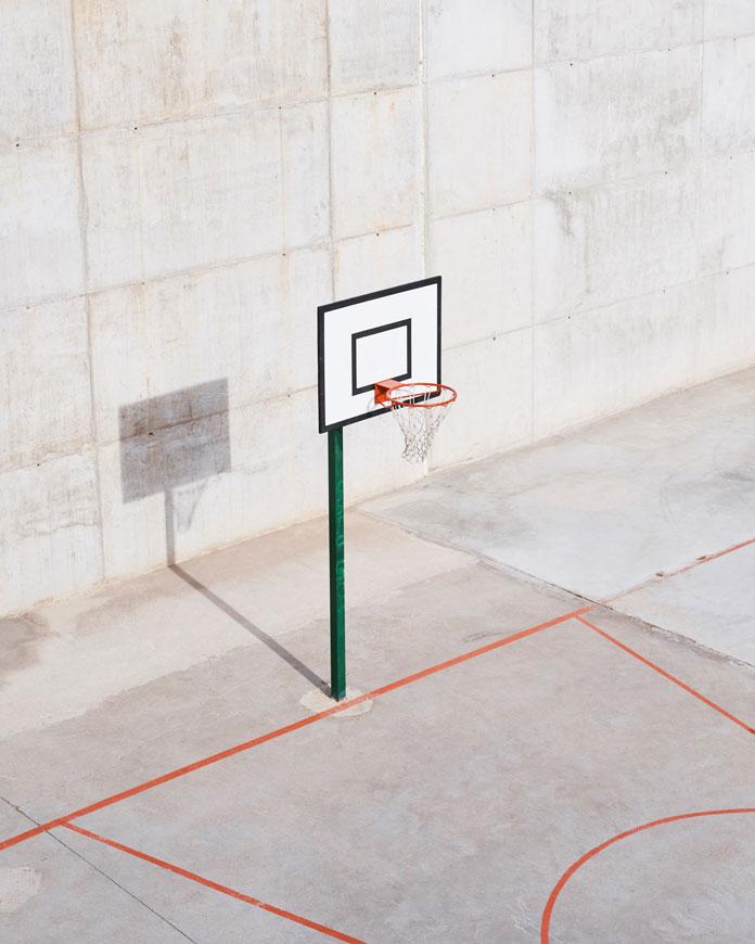 Christian Delfino Photography, Basketball court