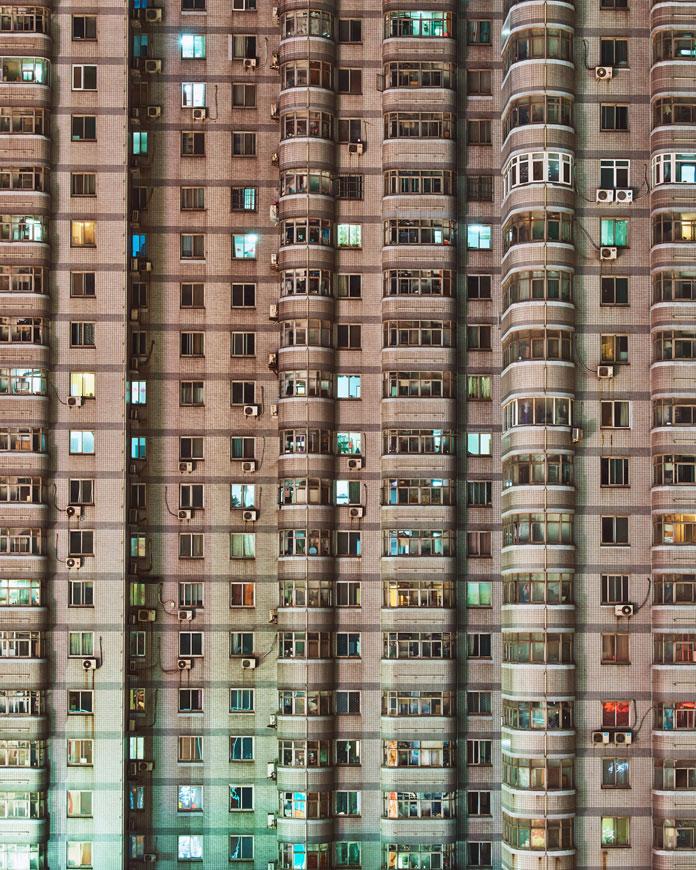 Christian Delfino Photography, Claustrophobic city life