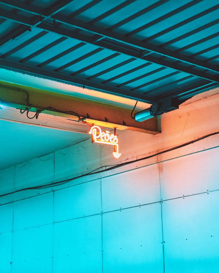 Christian Delfino Photography, Neon light