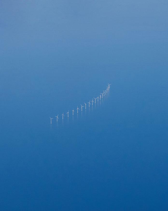 Christian Delfino Photography, Offshore wind turbines